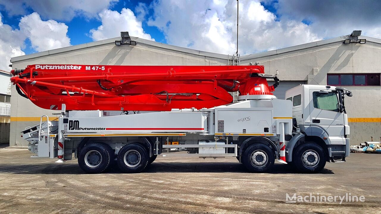 Putzmeister BSF 47-5.14H on chassis MERCEDES-BENZ Axor 4140 concrete pump
