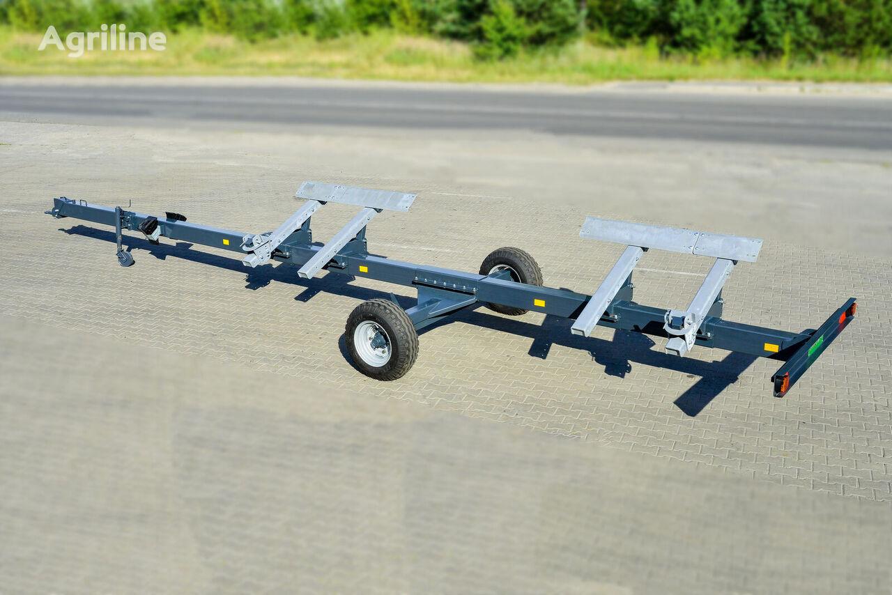 new VOLLAND VL25 combine header trailer