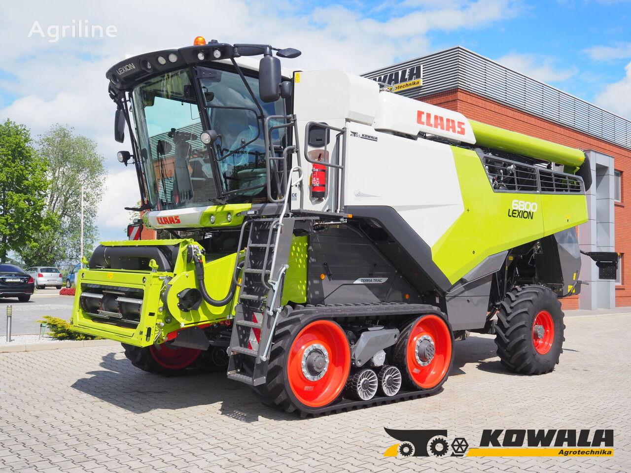 CLAAS Lexion 6800 TT (4WD) + V770  grain harvester