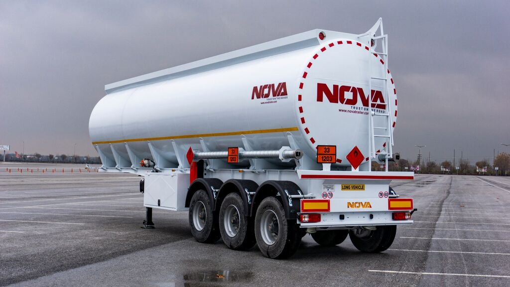 new Nova 45.000 Liters Tanker Trailers fuel tank trailer