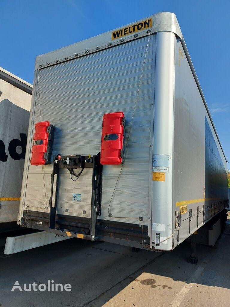 WIELTON NS3K Prelata Standard 2018 curtain side semi-trailer