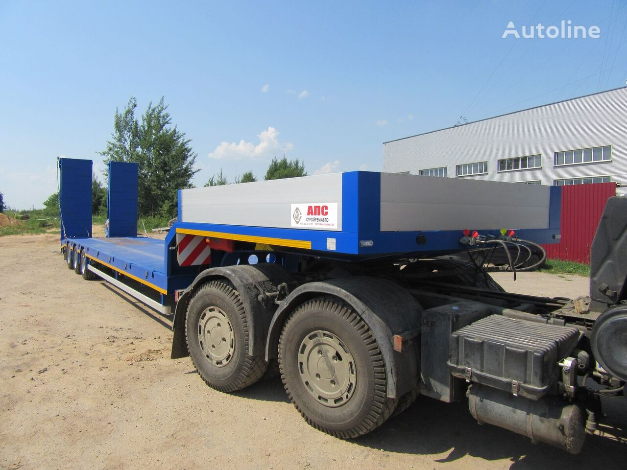 new APS 55443V low bed semi-trailer