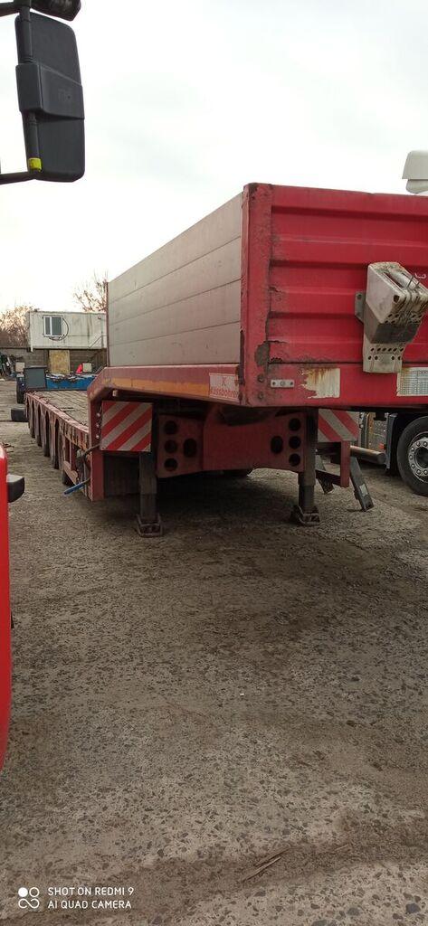 KASSBOHRER LB5E low bed semi-trailer