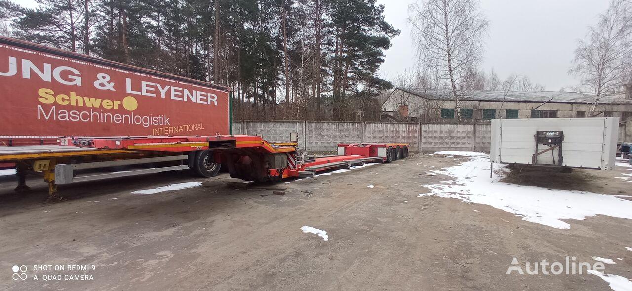 RECKER SANR 48 low bed semi-trailer
