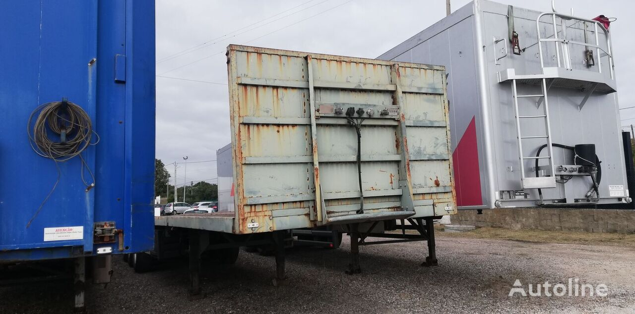 BERGER platform semi-trailer