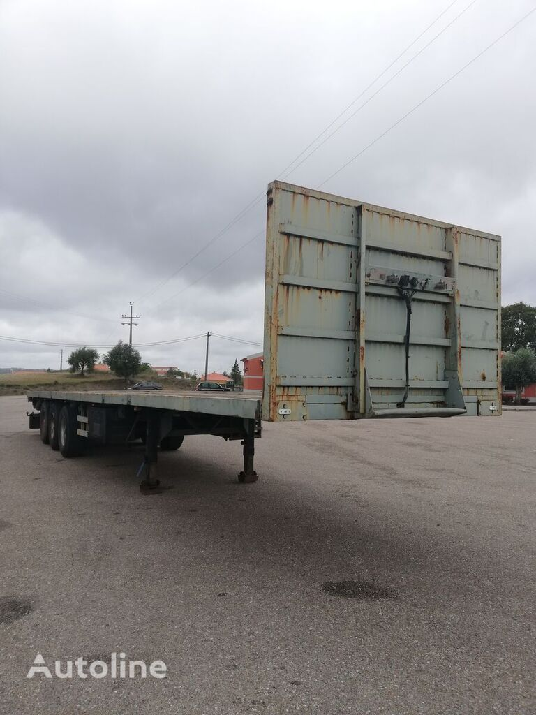 BURG platform semi-trailer