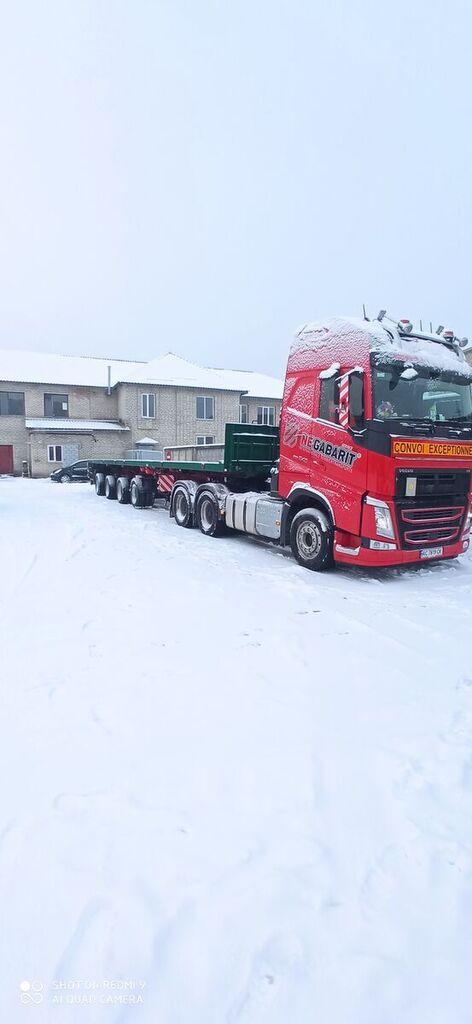 FAYMONVILLE SPZ-4AA  platform semi-trailer