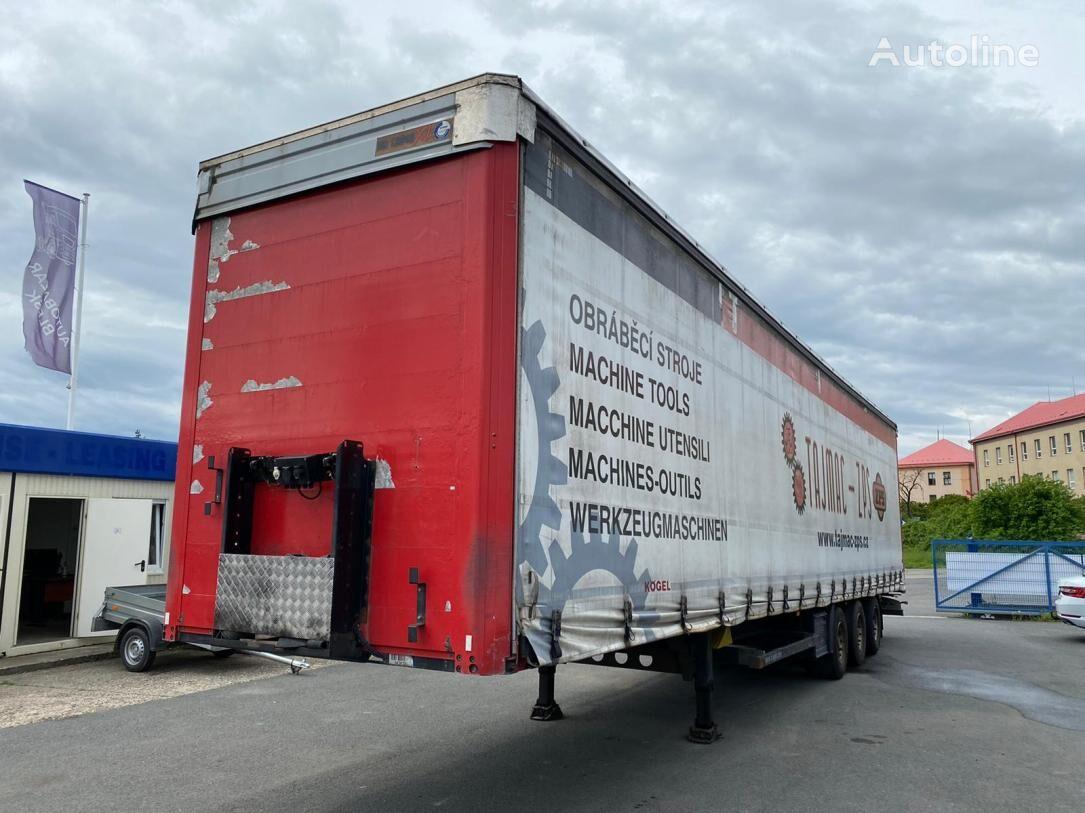 KÖGEL S24 BPW tilt semi-trailer