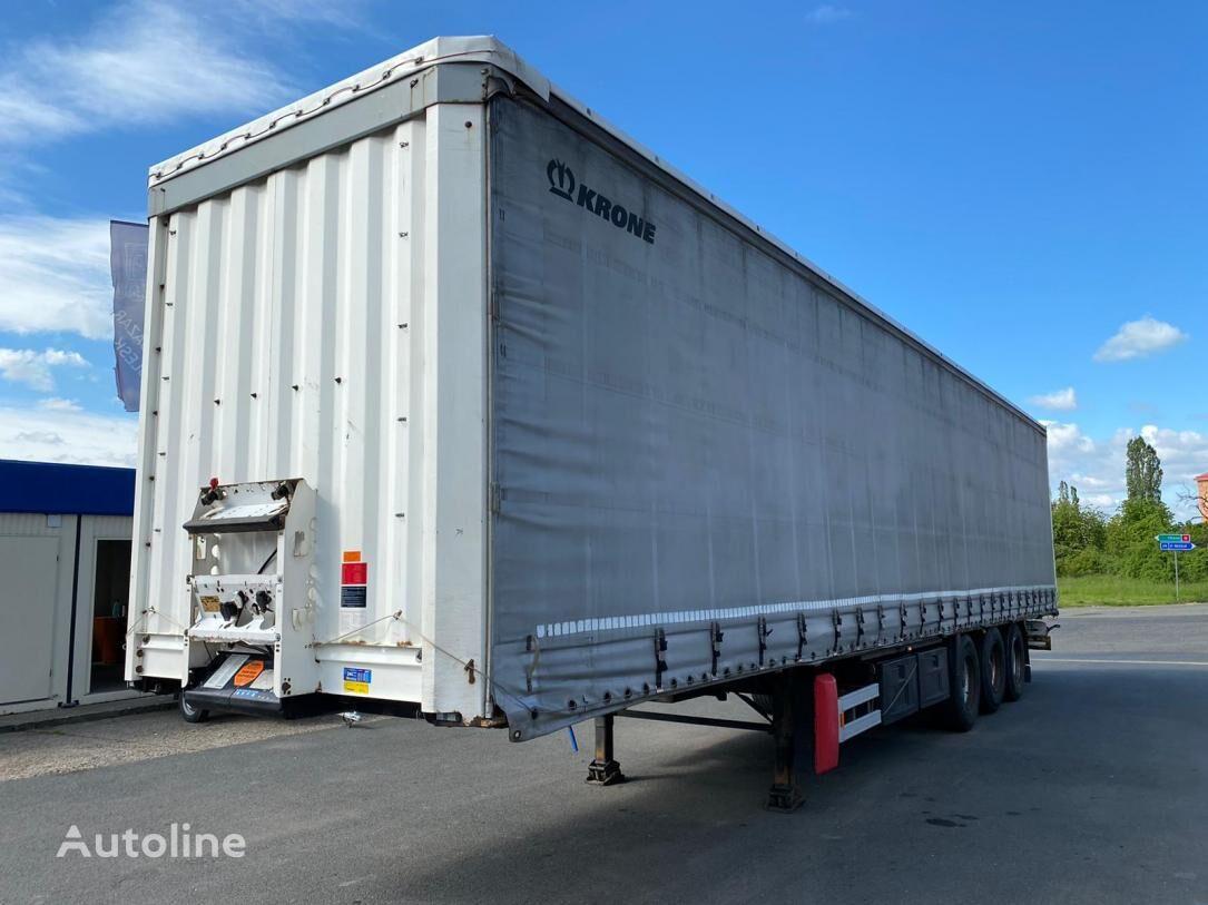 KRONE SD BPW tilt semi-trailer