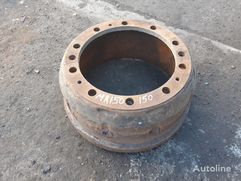 MAN (81501100231) brake drum for MAN 4-series L/M/F (1993-2005) truck