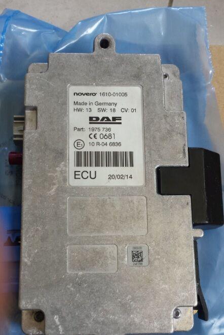DAF emission ECU, EDC control unit 1953696, 197 control unit for DAF XF, 106XF EURO6, CF tractor unit