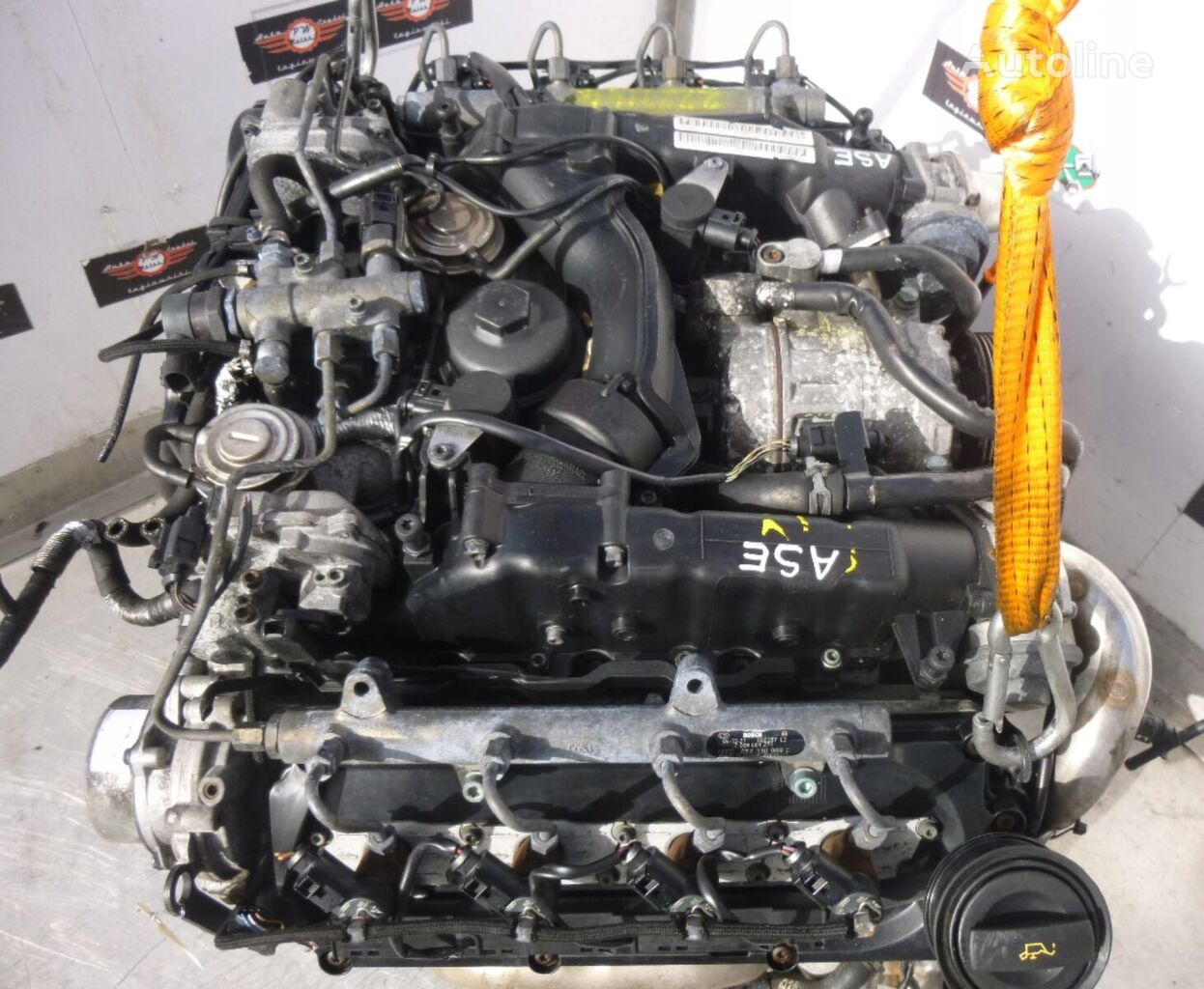 4.0 TDI ASE MIT ANBAUTEILE engine for Audi A8  car