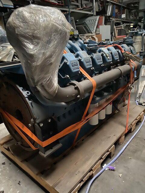 MTU 16-2000 engine for truck