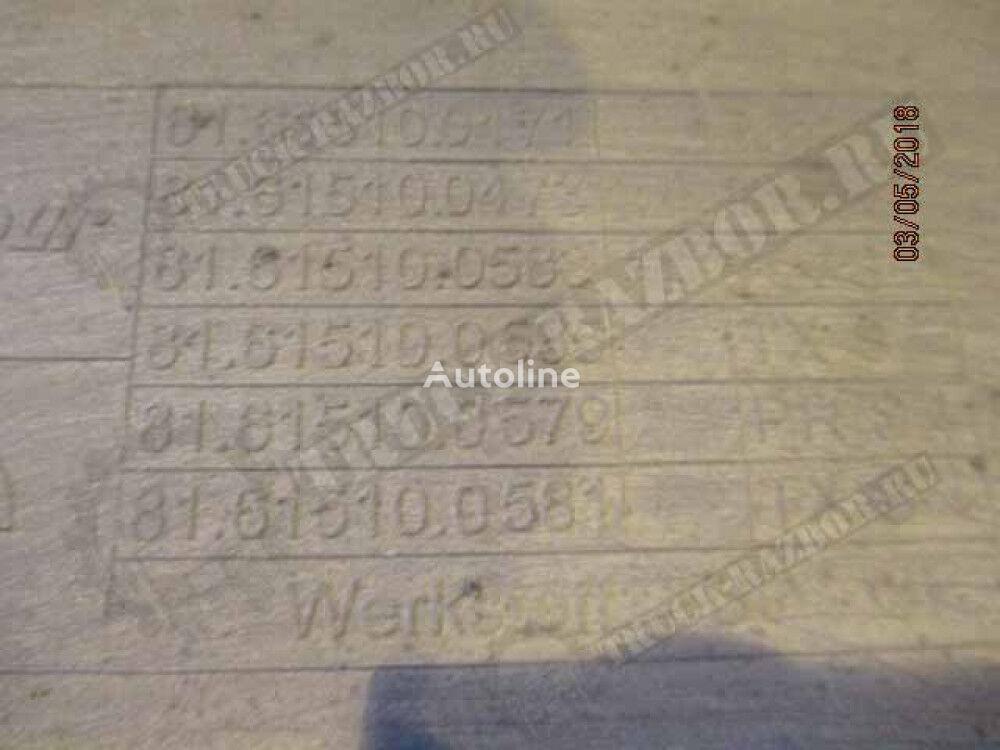 trap, L (81615100473) footboard for MAN tractor unit