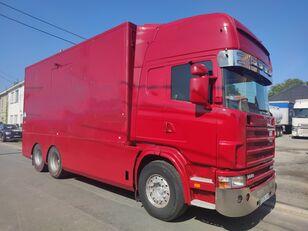 SCANIA 144 G  460  V8   6x2  ///MANUEL//RETARDER///FRENCH TRUCK/// box truck