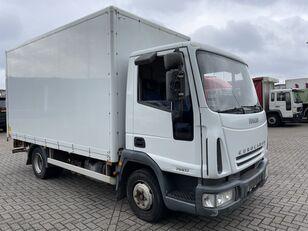 IVECO EuroCargo 75 E17 bakwagen plus laadklep box truck