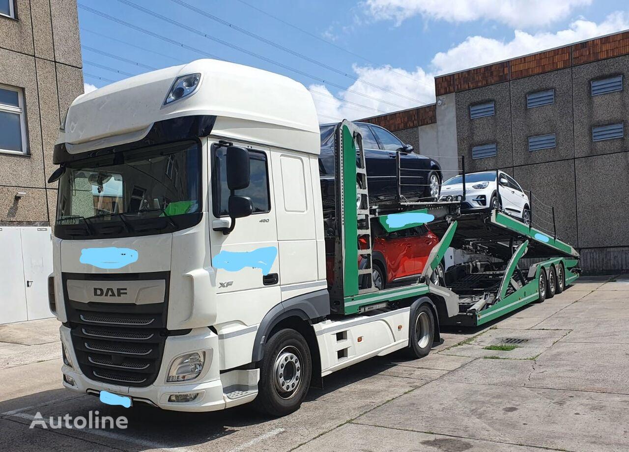 LOHR Eurolohr 3.53W xs-B2 car transporter + car transporter trailer