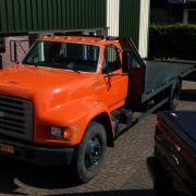FORD F800 car transporter