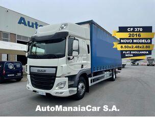 DAF CF SSC 370 EURO6 4X2 CORTINAS curtainsider truck