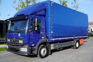 MERCEDES-BENZ Atego 1224L / Euro 6/18 europallets / 240 thousand. km! curtainsider truck