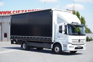 MERCEDES-BENZ Atego 1524 , E6 , 90.000km , GVW 15.000kg , Tarpulin 7,2m , tail curtainsider truck