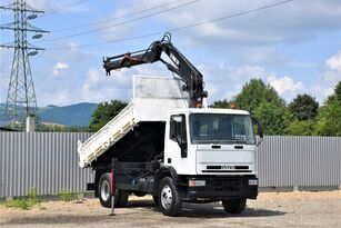 IVECO EUROCARGO 150E18 * KIPPER 4,00m + HIAB 110-1 dump truck
