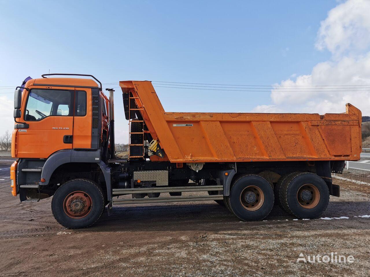 MAN TGA 33.430 S1  dump truck