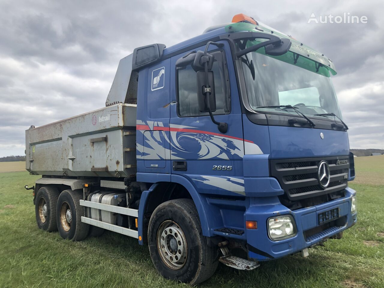 MERCEDES-BENZ Actros 2655 TR.086 dump truck