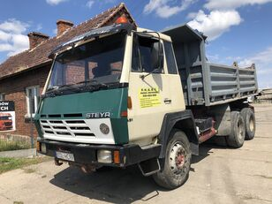 STEYR 1491 Kipper Full Stell  dump truck