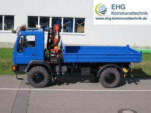MAN LE 10.180 L26 flatbed truck