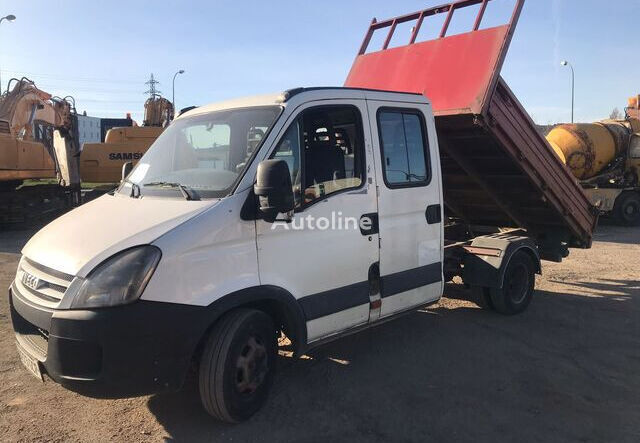 IVECO 35C12 flatbed truck