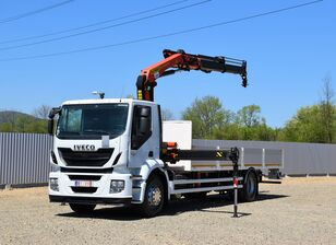 IVECO Stralis 310 PRITSCHE + FUNK ! flatbed truck