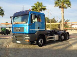 MAN TGA 26.480 hook lift truck