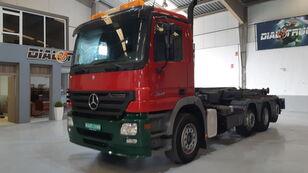MERCEDES-BENZ ACTROS 3541 8X2 D.DIRECC. hook lift truck