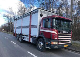 SCANIA 340 livestock truck