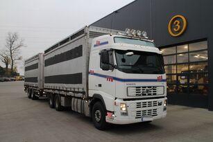 VOLVO FH12.480 CHICKEN TRANSPORTER livestock truck + livestock trailer