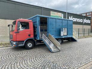 MAN TGL 8.210 BL  Menke , 2 x AHK , TOP,  Tier, Viehtransporter livestock truck