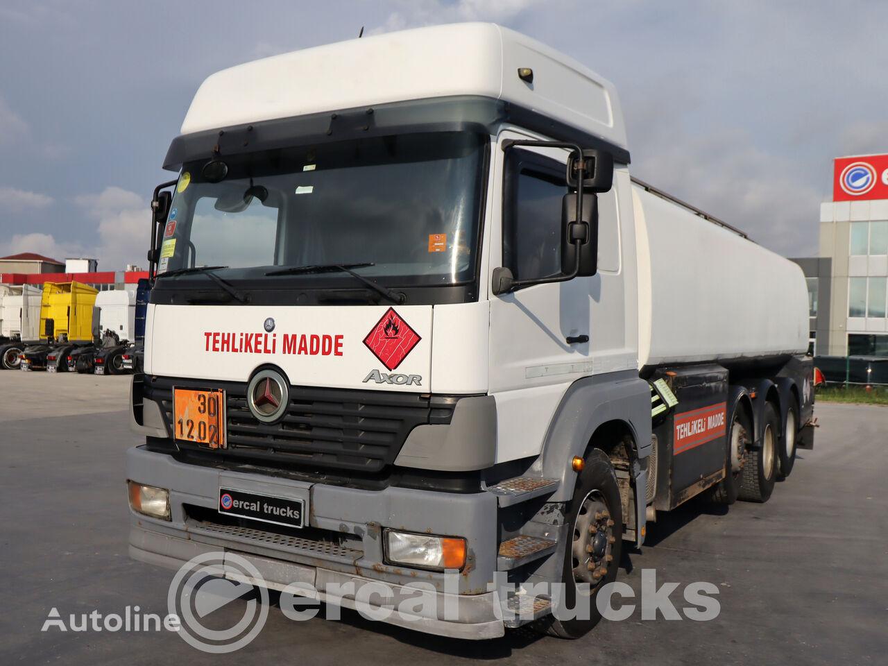 MERCEDES-BENZ 2005 AXOR 3228 ADR 8X2 EURO3 TANKER  tanker truck