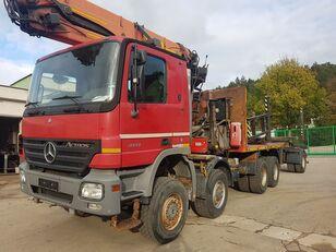 MERCEDES-BENZ ACTROS 4141 8x8 EPSILON 250L + telescopictrailer timber truck