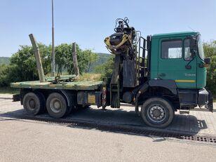 MAN F2000 33.410 timber truck