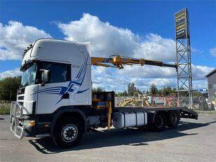 SCANIA R 144-530 GB-6X2 tow truck