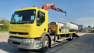 RENAULT Premium 250.19 Crane Winch tow truck